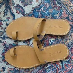 Madewell Boardwalk Bare Slide Sandal